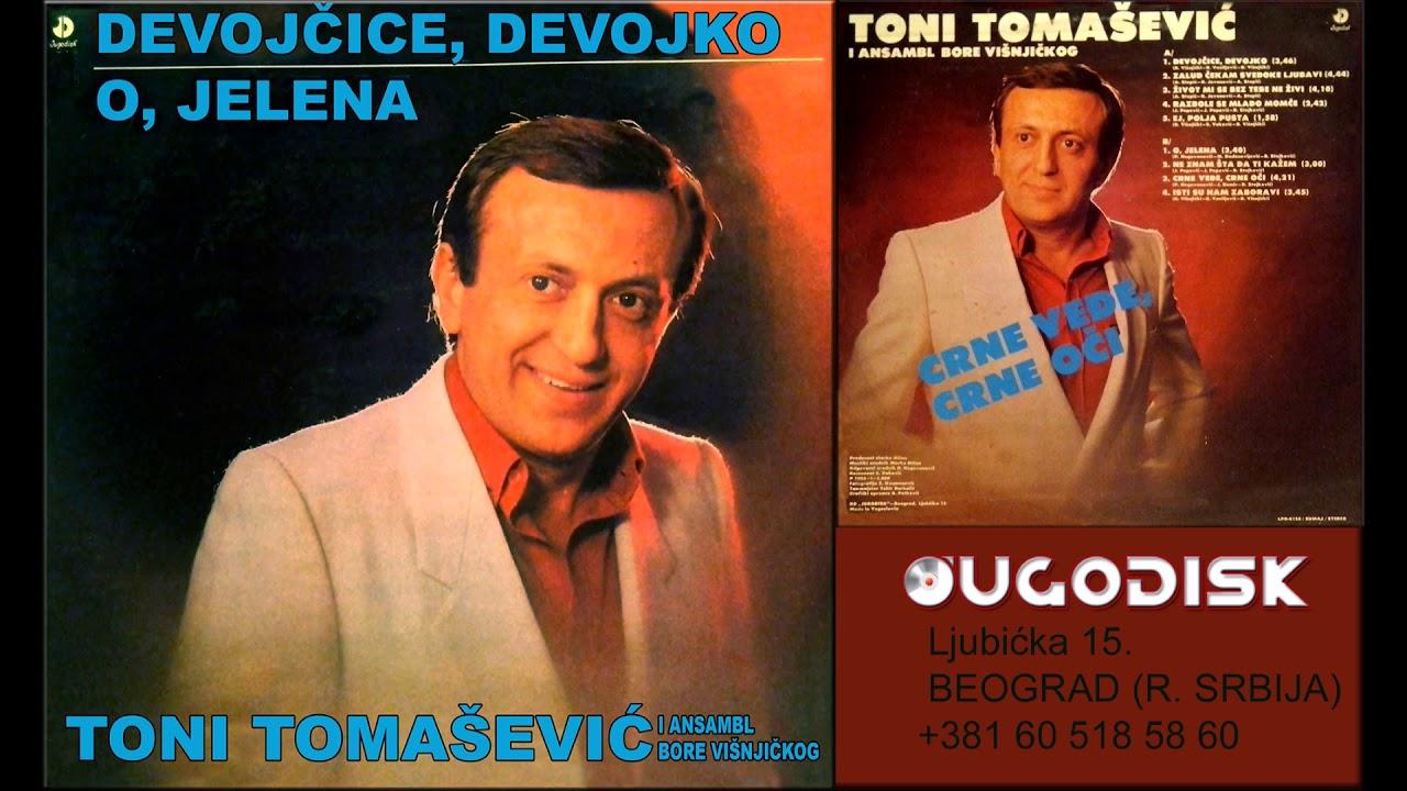 Toni Tomasevic i ork Bore Visnjickog - Crne vedje crne oci - (Audio 1983)