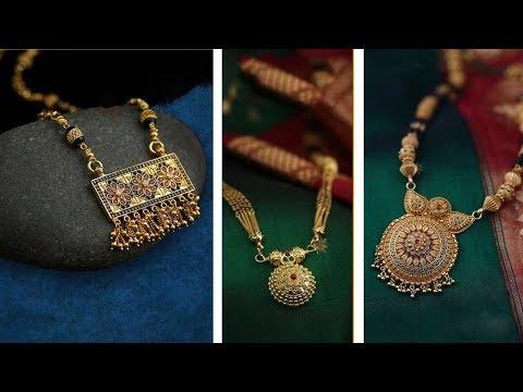 Simple & Beautiful Mangalsutra Designs