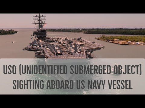 Marc D'Antonio Discusses USO (Unidentified Submerged Object) Sighting Aboard US Navy Vessel