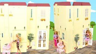 Happy Family Barbie Smart House/Talking Doll House Rumah Maison Poupée Puppenhaus دمية Casa boneca