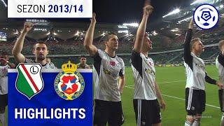 Legia Warszawa - Wisła Kraków 5:0 [skrót] sezon 2013/14 kolejka 33