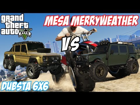 Gta Dubsta Glitch Gta 5 Dubsta 6x6 vs Mesa