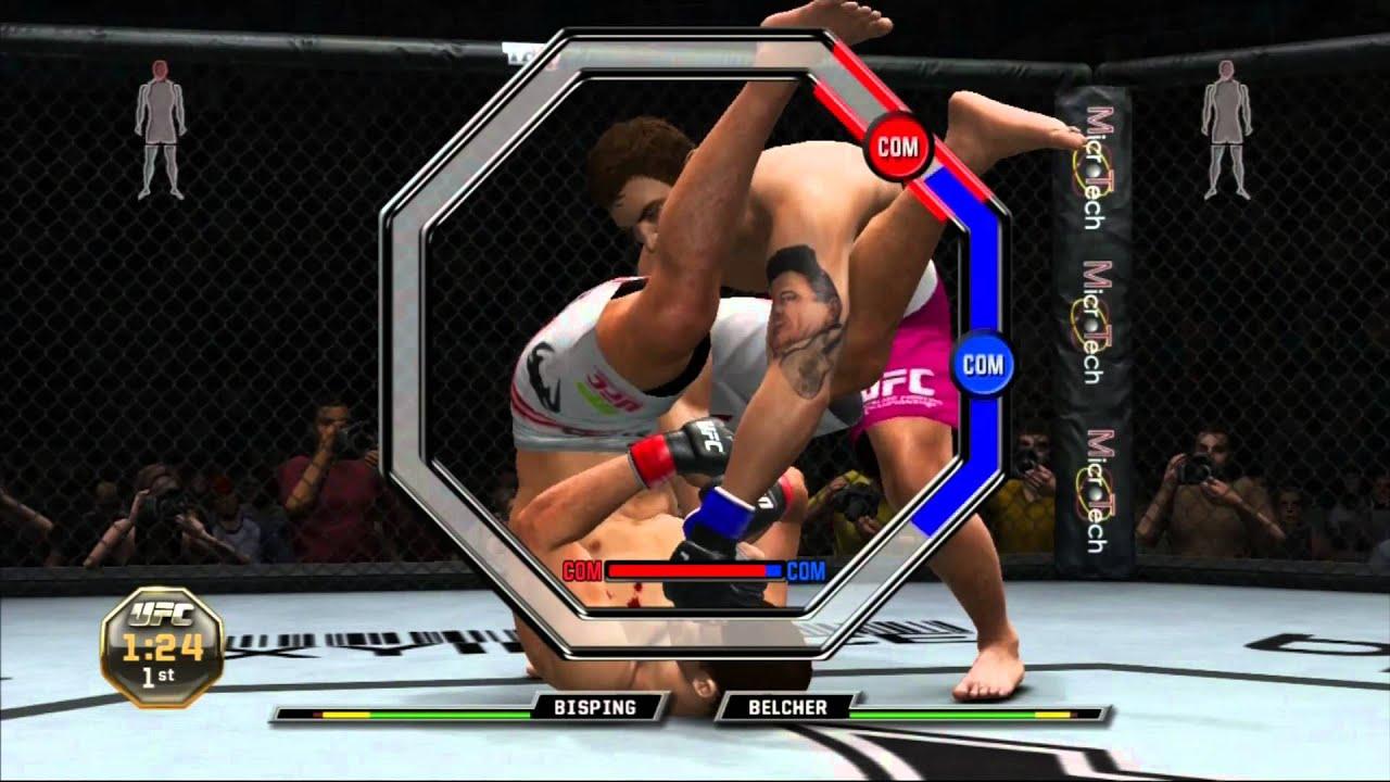 UFC Undisputed 3 ~ Mike Bisping vs Alan Belcher