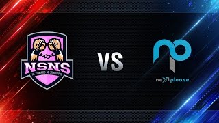 NS-NS vs NextPlease - day 2 week 1 Season I Gold Series WGL RU 2016/17