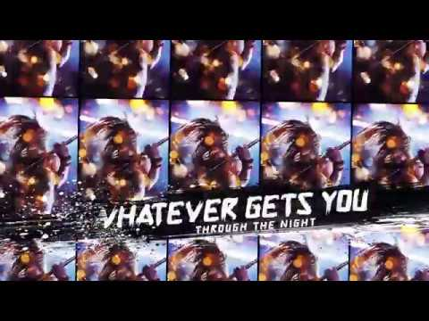 "THE AMORETTES  ""Whatever Gets You Through The Night"" (Official Lyric Video)"
