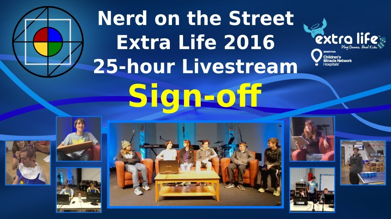 Sign-off - Extra Life 2016