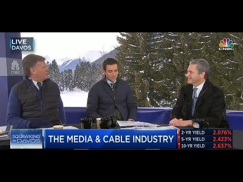 Liberty Global CEO, Mike Fries', CNBC Squawkbox Davos interview 2018