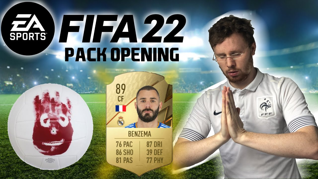 Pack Opening Fifa22 - Jojo Bernard