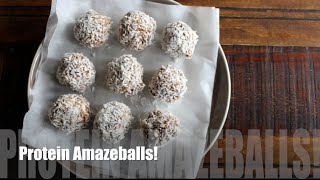 High Protein Snack Balls | Meal Prep with Hannah!