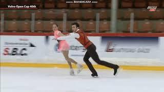 Alina Butaeva Luka Berulava Алина Бутаева Лука Берулава FS Junior Pairs Volvo Open Cup 2019