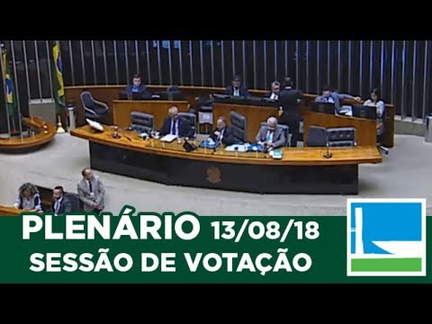 PLENÁRIO - Sessão Deliberativa - 13/08/2018 - 17:00