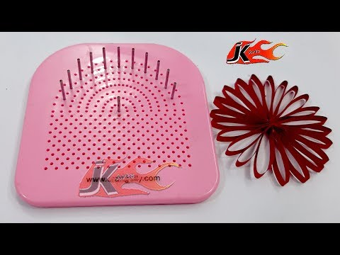 How to use Paper Quilling Tool Husking Board | JK Arts 1583