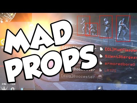 REVERSE PROP HUNT! (Call of Duty: Modern Warfare Remastered Mad Props)