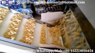 jinan dg puffed corn snack food making extruder machine