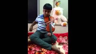 Violin Vinayaka ninnu vina  20150404