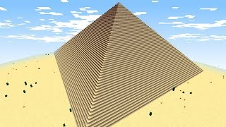 ACHE O TESOURO PERDIDO NA PIRAMIDE DO FARAÓ... (MINECRAFT)