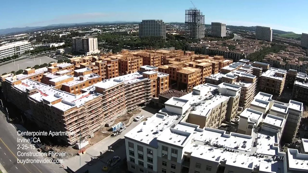 Centerpointe Apartments Irvine Ca Construction Flyover 2 25 15 Youtube