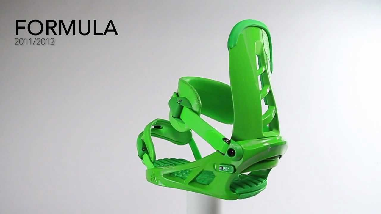 2011 / 2012 K2 Formula Snowboard Binding - Mason Aguirre Product Video Review