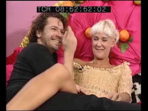 Paula Yates and Michael Hutchence on Big Breakfast