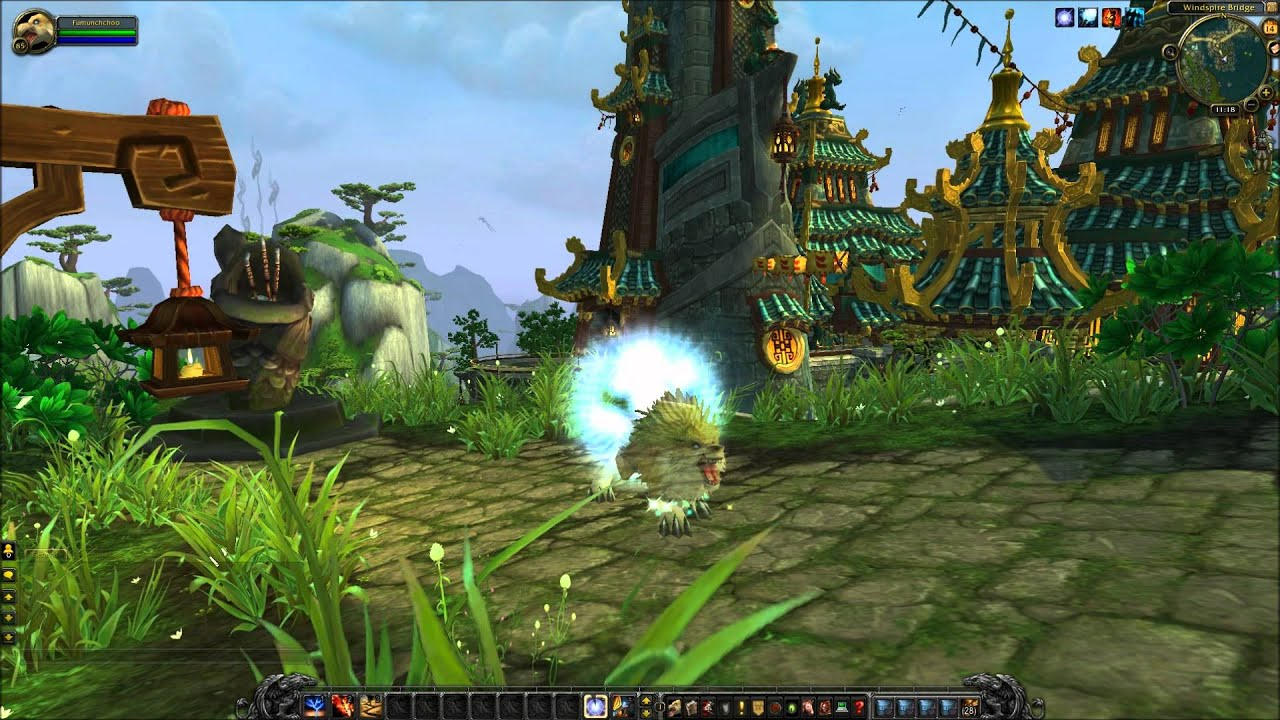 World of Warcraft Mists of Pandaria Shaman Spectral Wolf Glyph ...