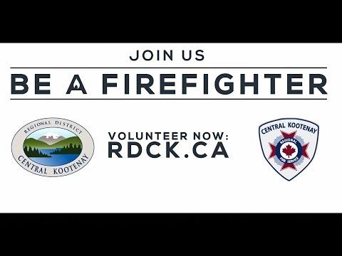 RDCK Volunteer Firefighter Recruitment
