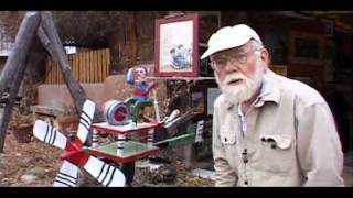 Ed Larson Whirligigs - Wind Sculptures