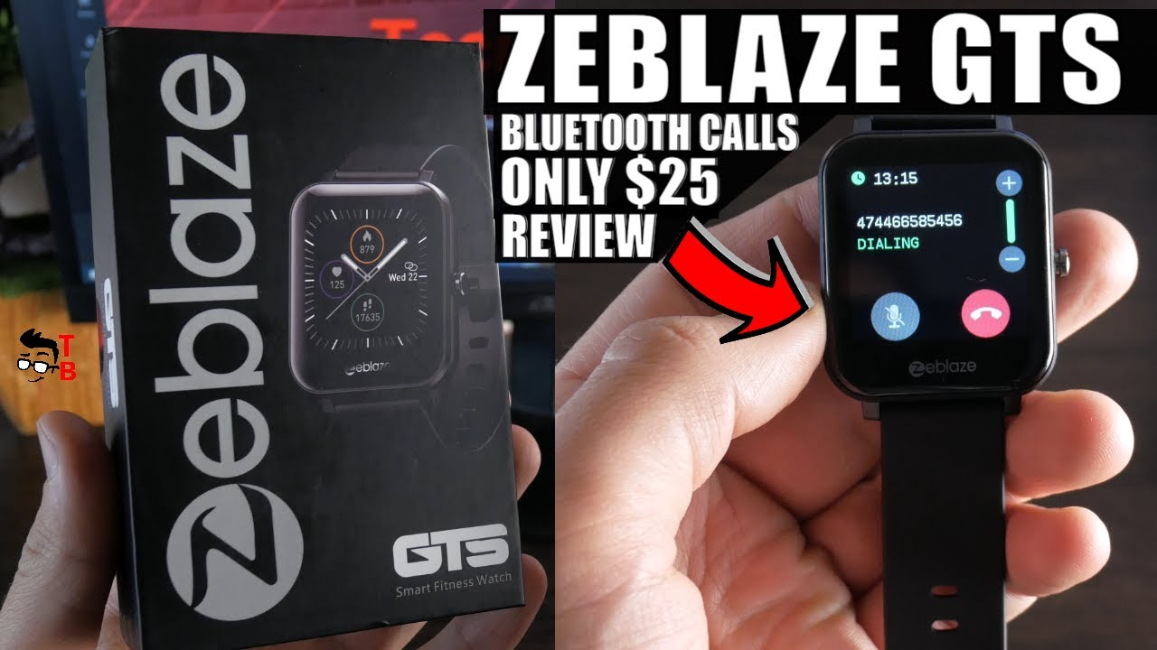 Zeblaze GTS REVIEW & Unboxing: $25 Watch To Make and Receive Calls!