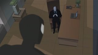 spectacular spider man 2008 black suit spidey meets with tombstone
