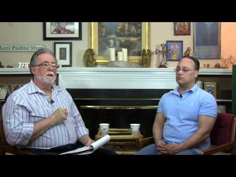Interview with psychic medium  Paul Saladino, Part 1