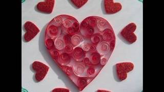 Quilling with Yoyomax12: SIMPLE VALENTINE HEART