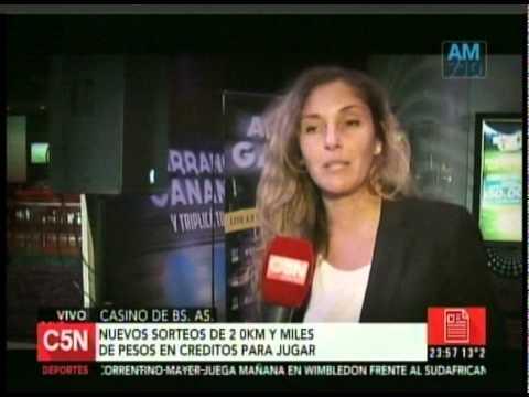 C5N - SOCIEDAD: ROBERTITO EN EL CASINO BUENOS AIRES