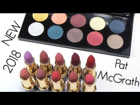 New Pat Mcgrath Makeup 2018 Live Swatches Review