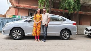 Taking Delivery of Honda City with Family|Happy Moments,Exterior,Interior&Driving Video