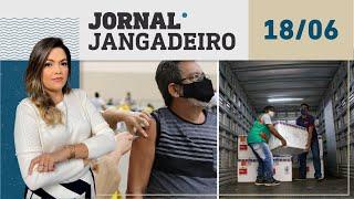 Jornal Jangadeiro 2ª edição 18/06/2021, com Lôrrane Mendonça