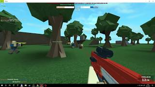Lets play Nerf FPS 2017 Roblox Gamer war 633
