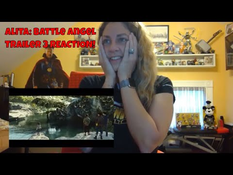 Alita: Battle Angel Official Trailer #3 (Final Trailer) - REACTION!