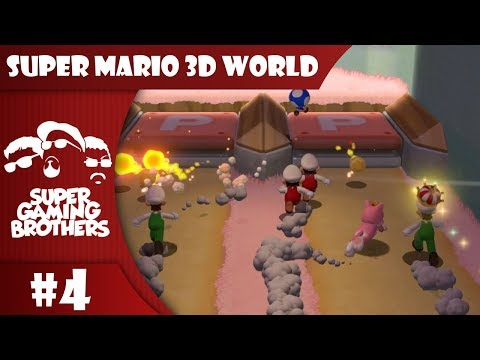 SGB Play: Super Mario 3D World - Part 4 | Seeing Double