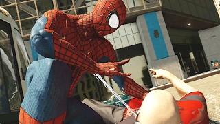 The Amazing Spiderman 2 Free Roam Combat & Stealth Takedowns
