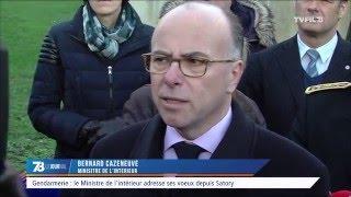 Gendarme : le Ministre de l'Intérieur adresse ses voeux depuis Satory