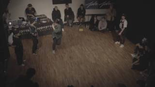 BREAK BREATH VOL.2 BGIRL BATTLE | TOP 8 RABBIT & QUEEN B vs RAWBERRY & CQUIRREL