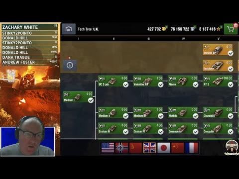 MAD GAMES LIVE STREAM - WORLD OF TANKS BLITZ