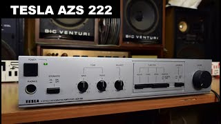 Tesla AZS 222 stereo zesilovač amplifier Verstärker