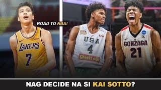 Tuloy na tuloy na ang Road To NBA ni Kai Sotto | Mag-tatraining sa US! | Europe Team ang Target?