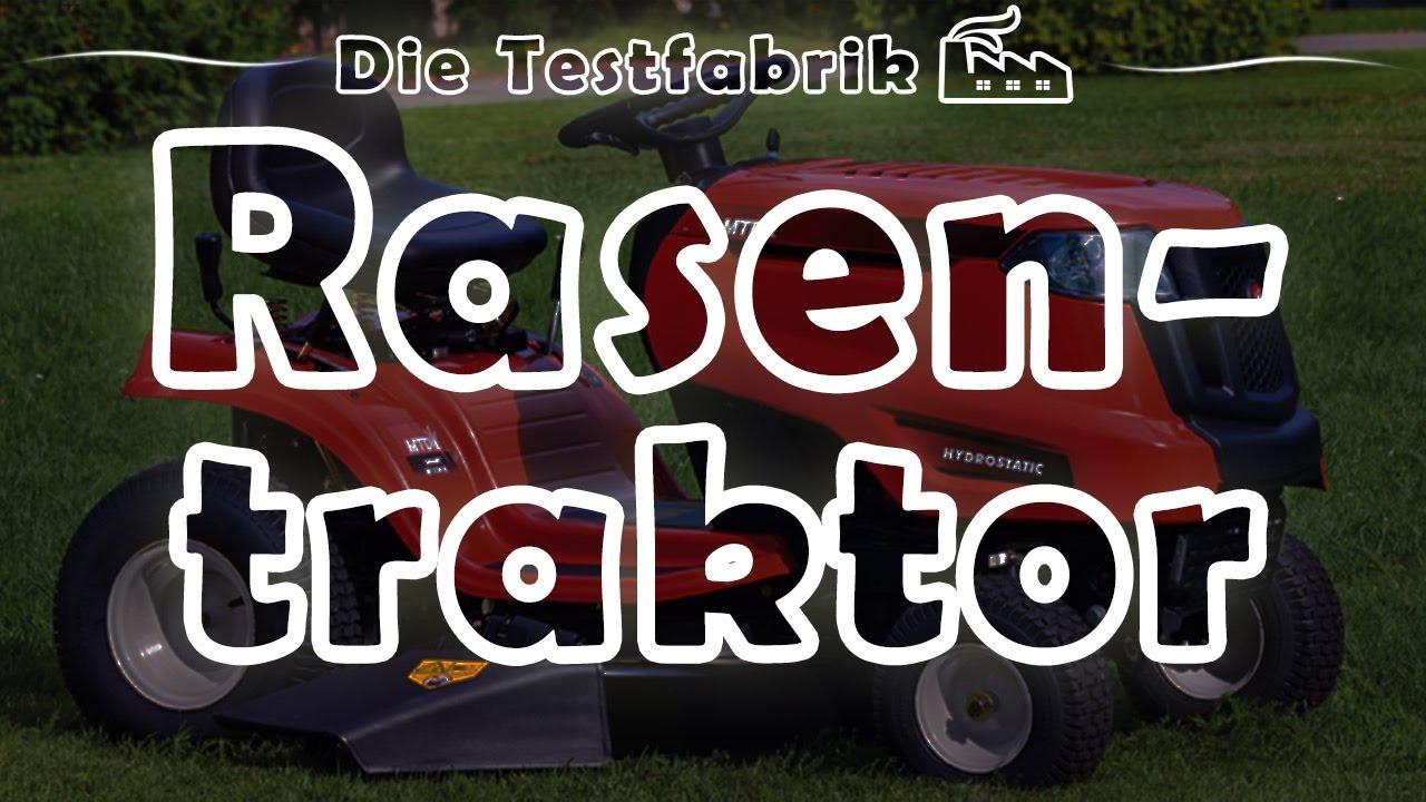 🚜 rasentraktor / aufsitzmäher test – 🏆 top 3 rasentraktor