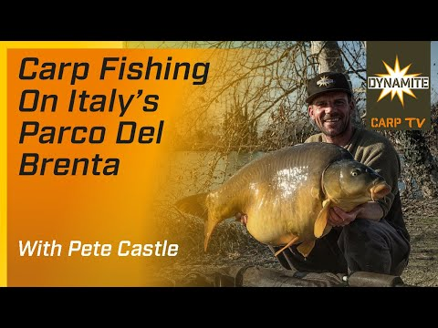 Carp Fishing - Euro Sessions: Italy With Pete Castle