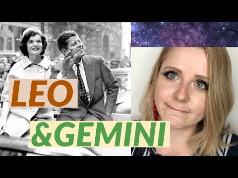 What Happened When Gemini Met Leo! Jackie And John F. Kennedy Compatibility