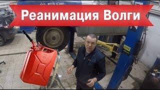 Волга Газ 24. Реанимация после 36 лет консервации.