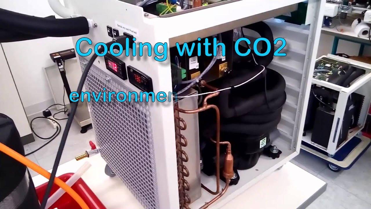 Kühlschrank Verdichter Aufbau : Eine r744 co2 vollhermetik kälteanlage in funktion. youtube