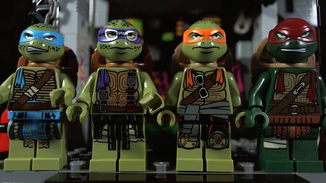 LEGO NINJA TURTLES INVASION 79117