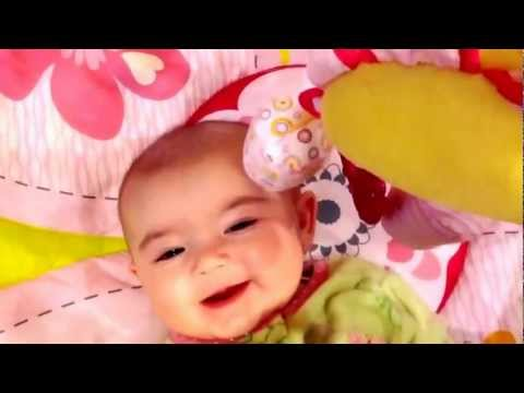 Laughing baby Avery